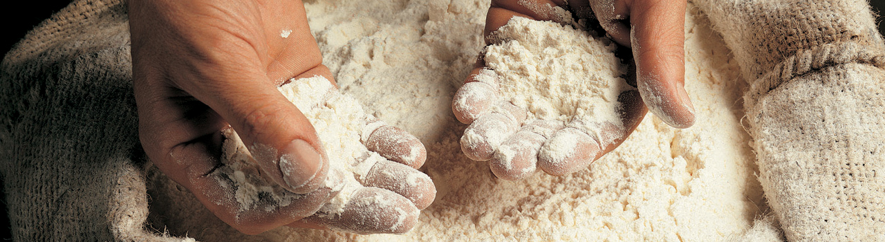 Traditional flour