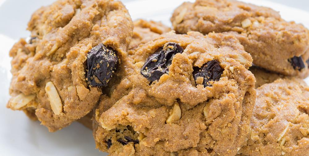 Biscotti uvette farine per dolci