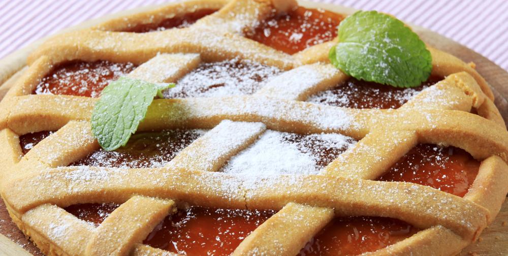 Crostata di marmellata e farina per dolci