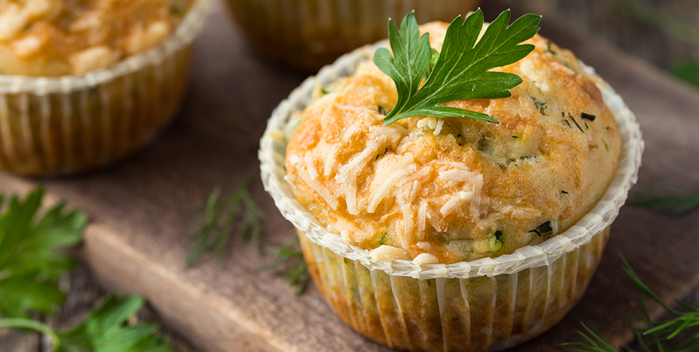 Muffin di zucchine