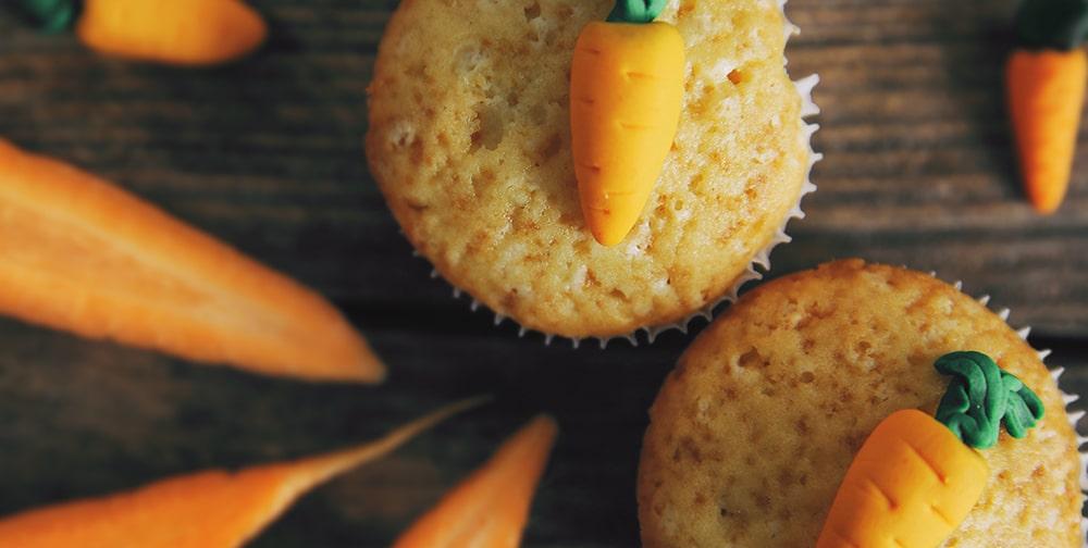 Farina dolci per tortine di carote