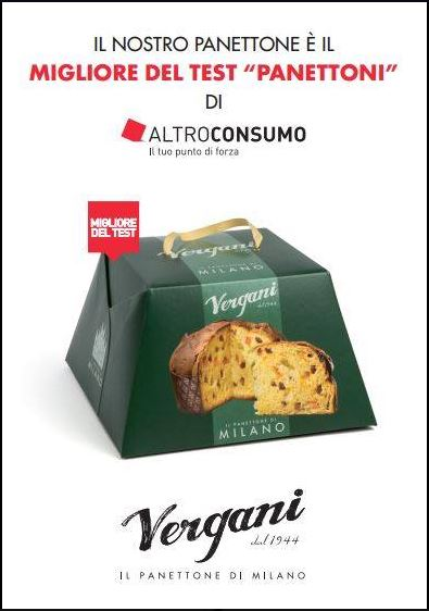 Congratulations to Panettone Vergani!