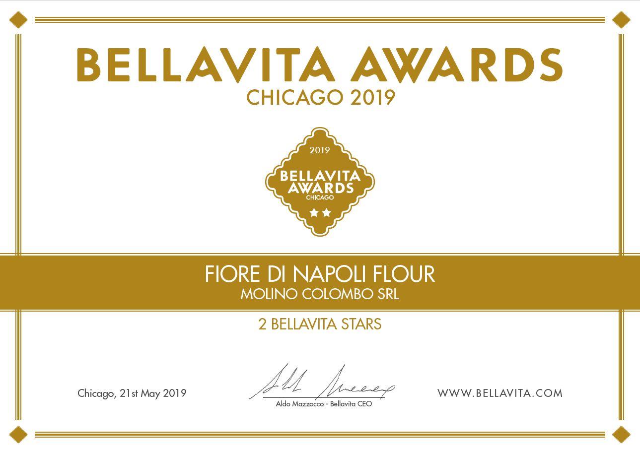 Molino Colombo e Fiore di Napoli premiati al Bellavita di Chicago