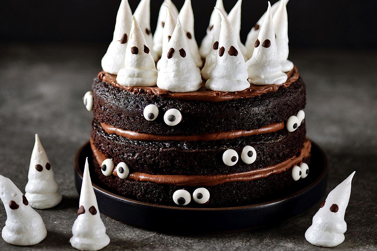Farine per dolci torta halloween cioccolato Molino Colombo