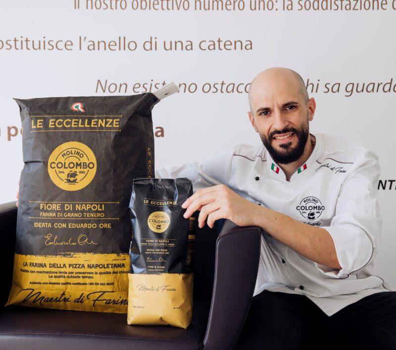 Eduardo Ore farina per pizza napoletana