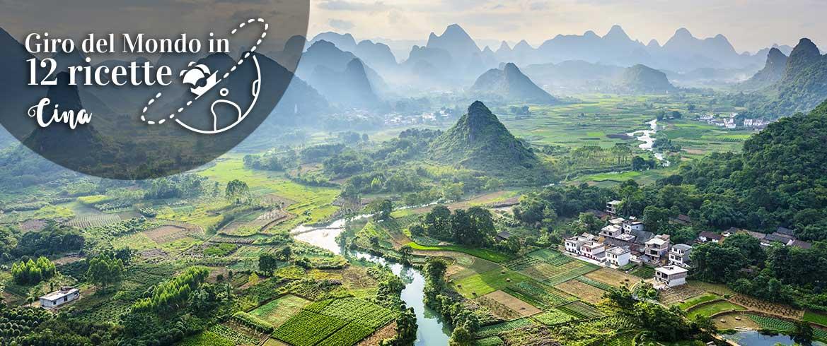 Cina Giro del mondo 12 ricette